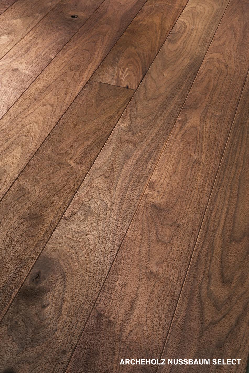 Massivholzdiele Nussbaum Select