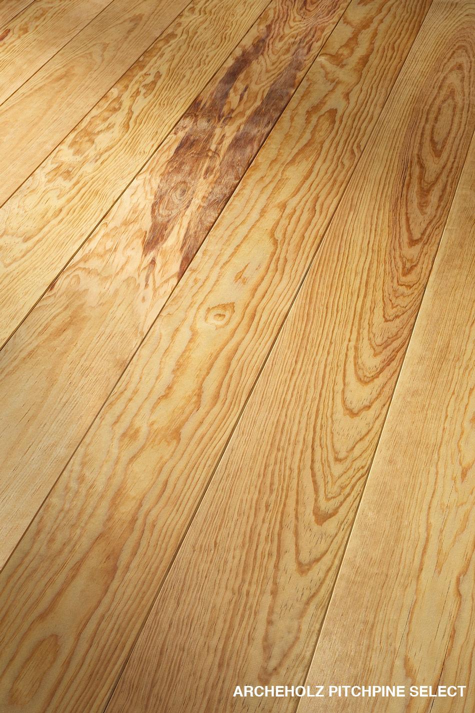 Massivholzdiele Pitchpine Select